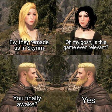Interesting title - meme