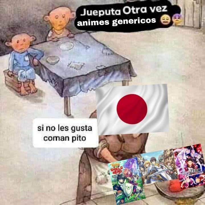 Japoneses culiaos saquen algo de calidad - meme
