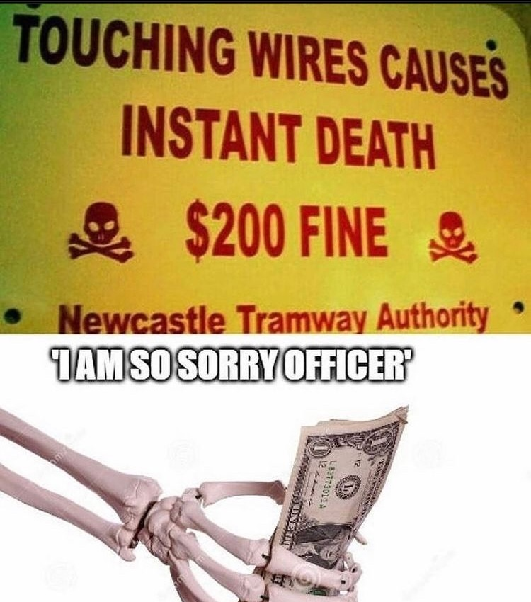 sorry officer - meme