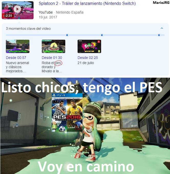 El PES Dorado - meme