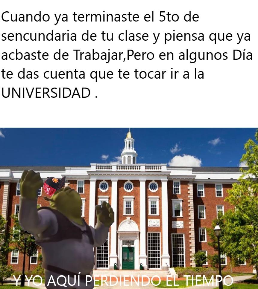 EL TIEMPO PASAR CUNADO ESTÁ EN CLASE - meme