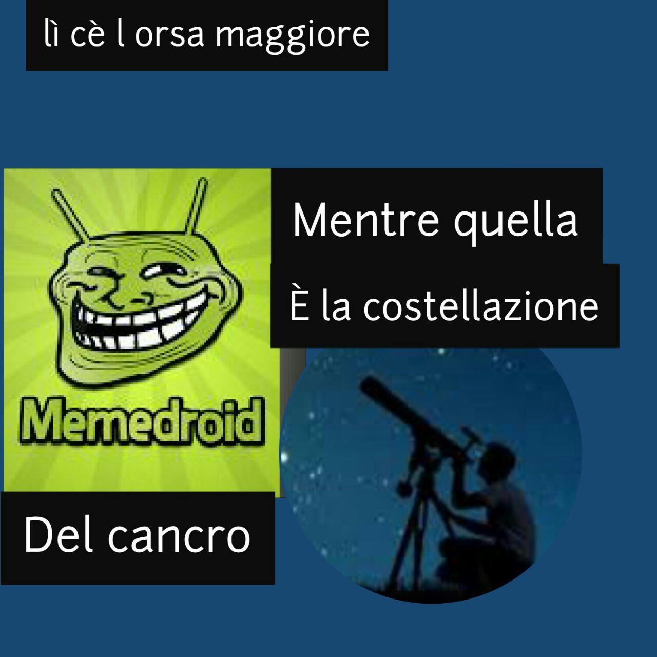 CITO I CANCRI CANCRAMENTE CANCROSI - meme