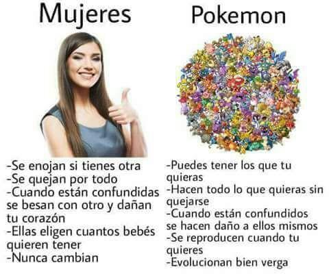 Adopta a un Pokémon. Cambiará tu vida. :-) - meme