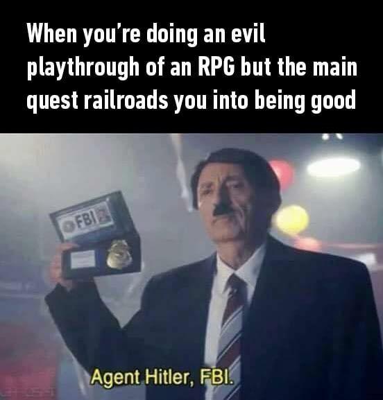 Agent Hitler, FBI - meme