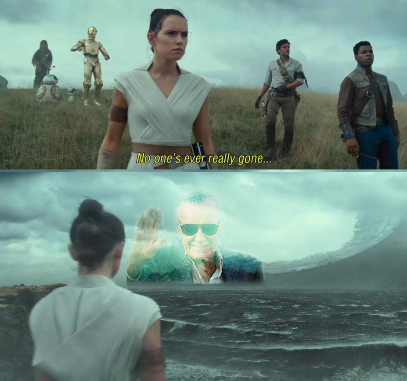 Excelsior (and F) - meme