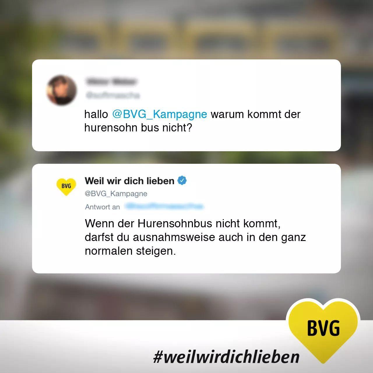 BVG steht für Berliner Verkehrsbetriebe - meme