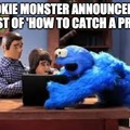 Cookie Monster in 'How To Catch A Predator'
