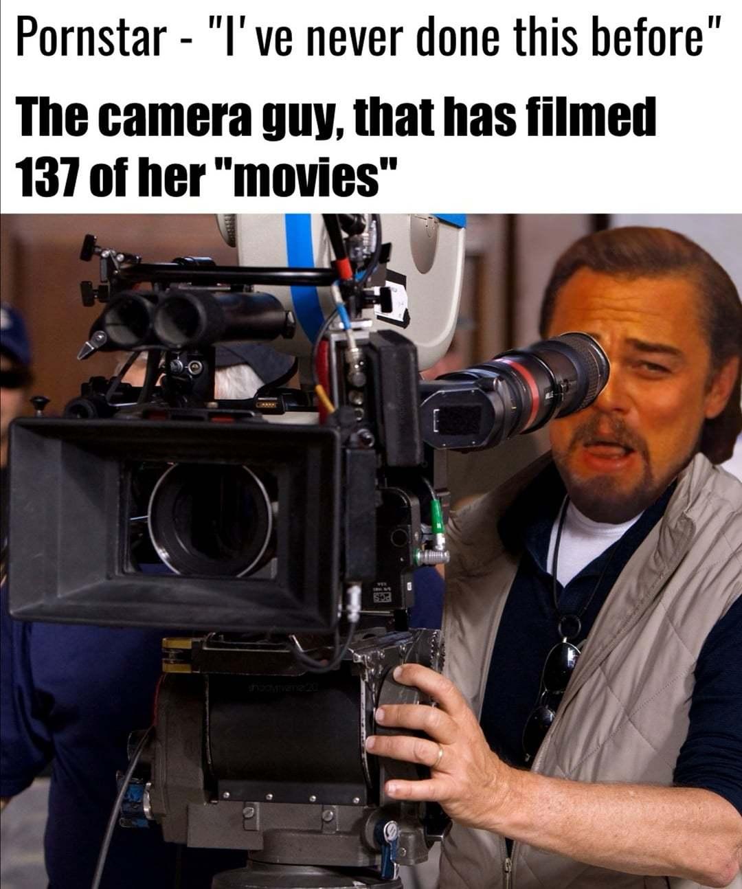 le porn cameraman - meme