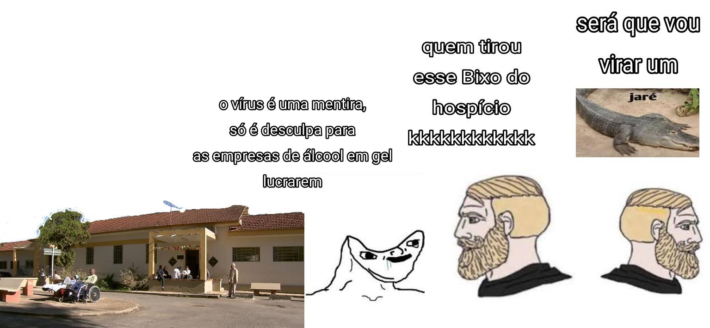 Titulo tá no hospício - meme