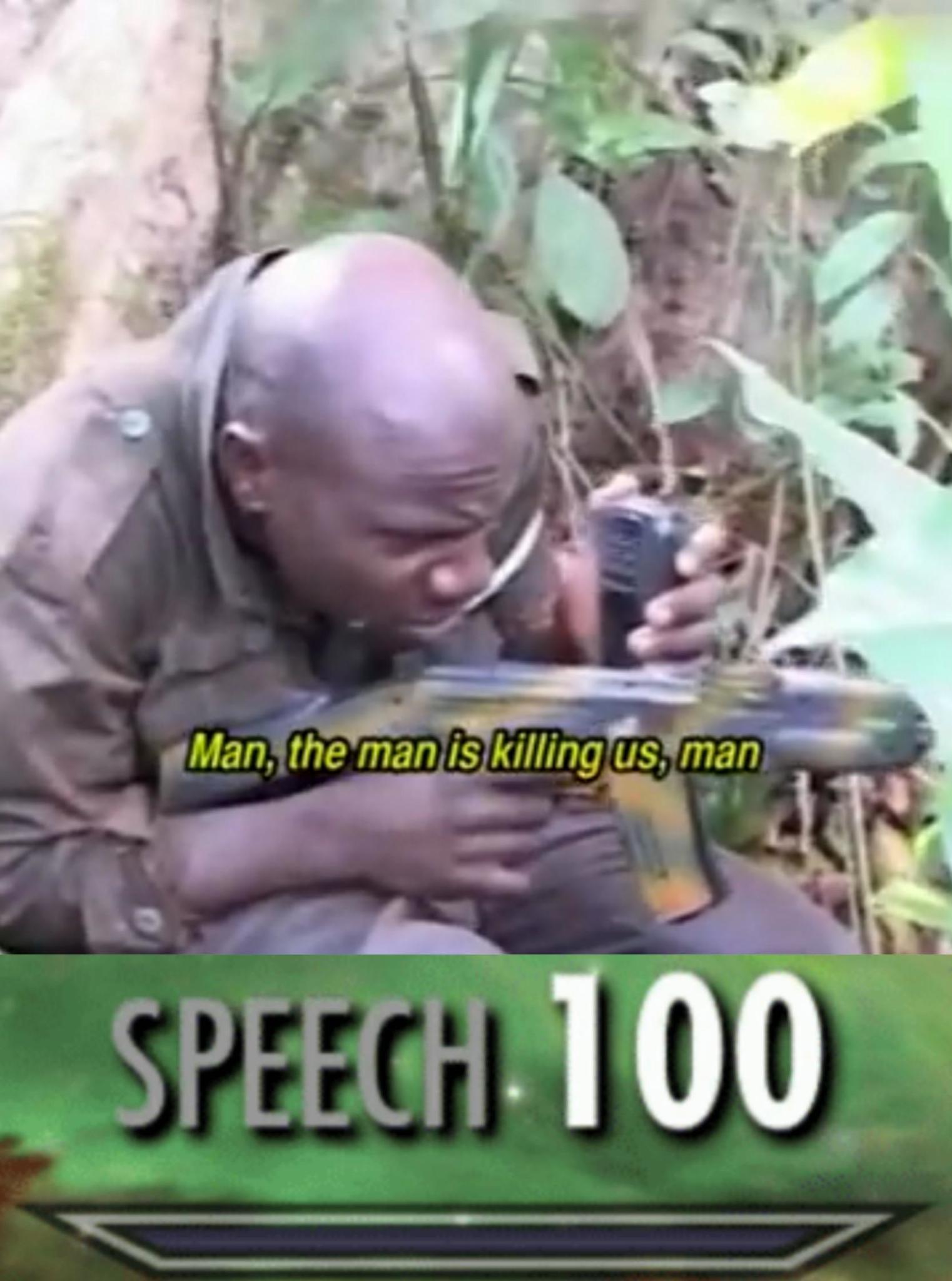 Best Ugandan movie, change my mind - meme
