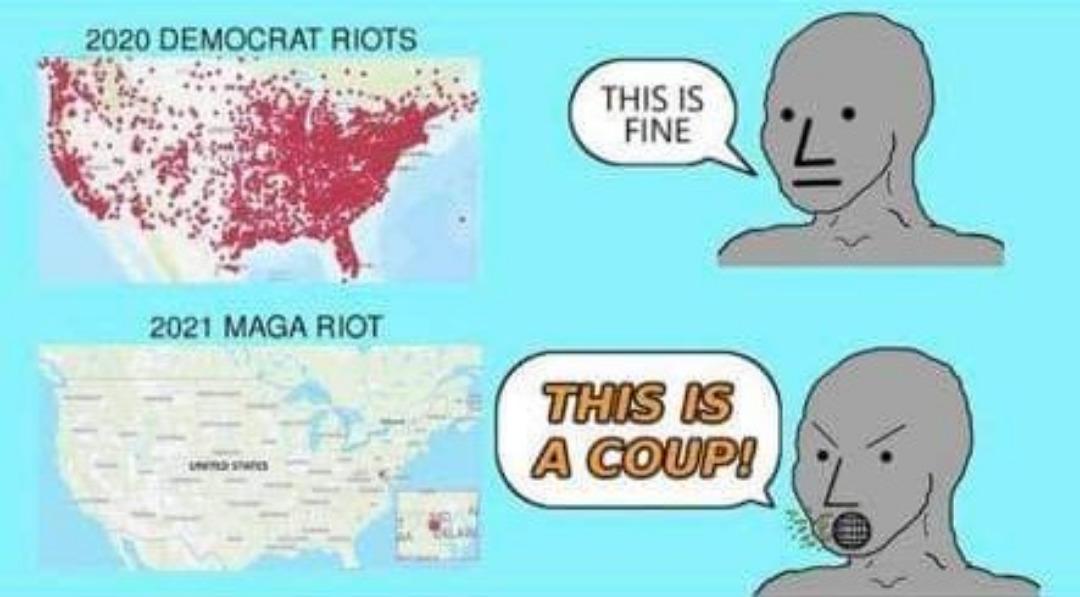 Mostly peaceful - meme
