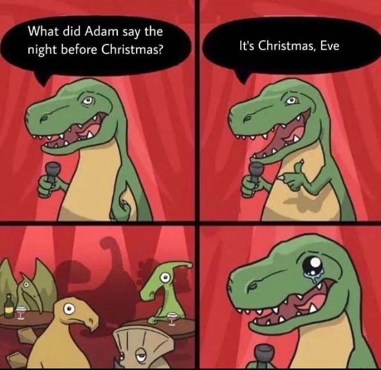 Dino pun - meme
