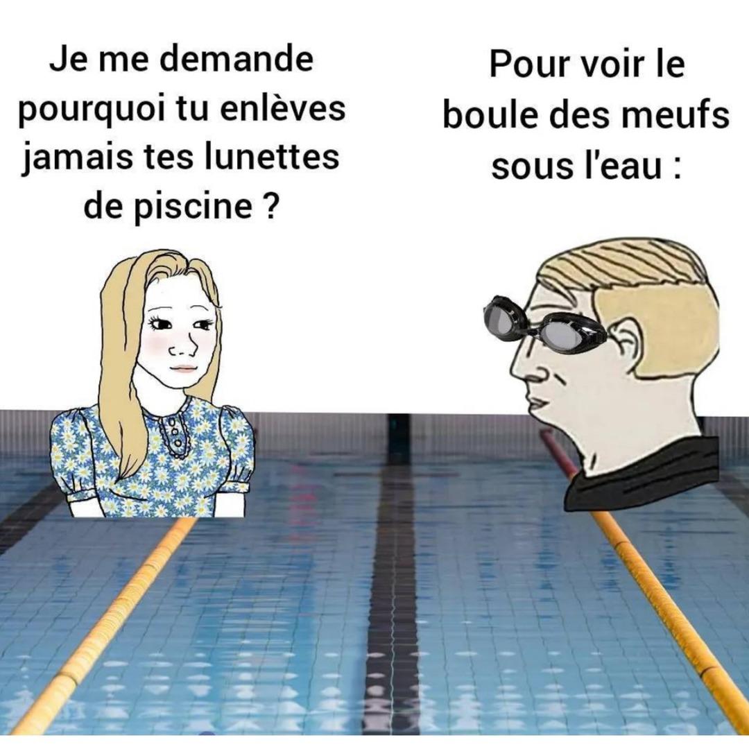 It's true (c'est vrai) - meme