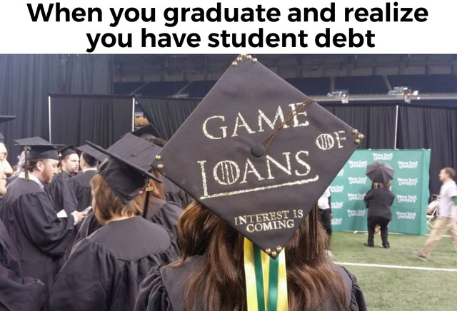 Game of loans - meme