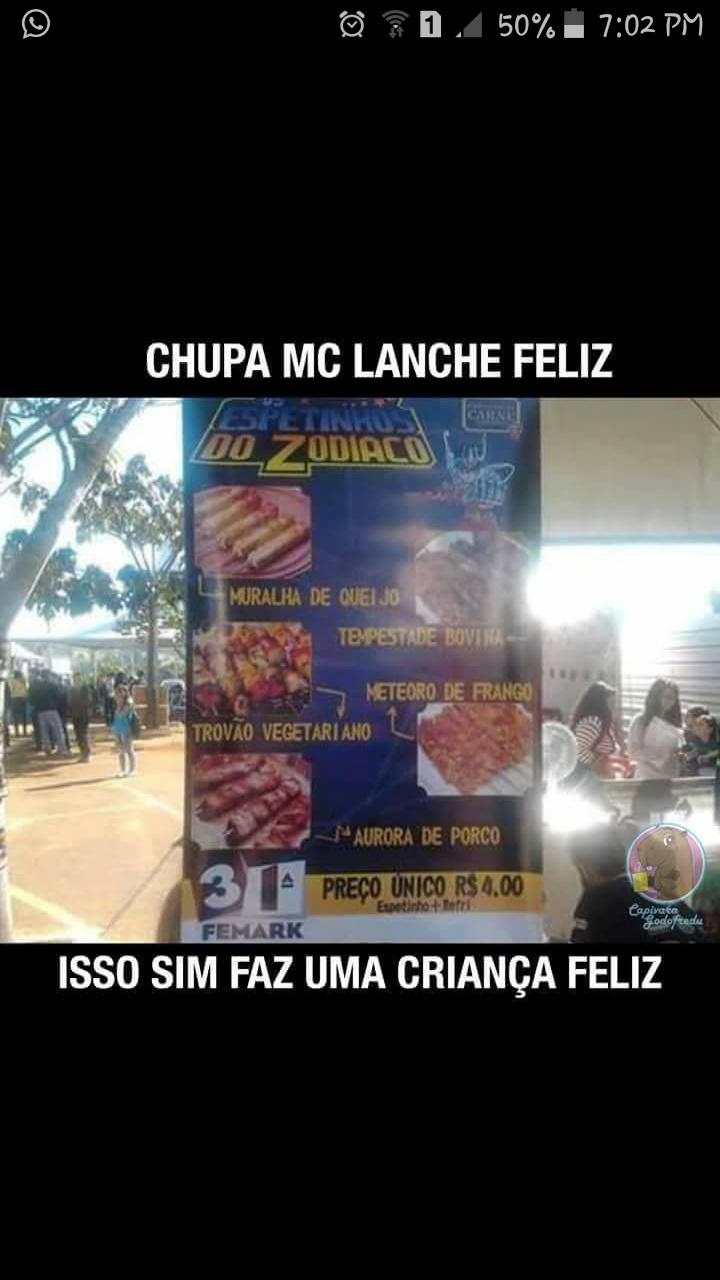 chupa mcdonald - meme