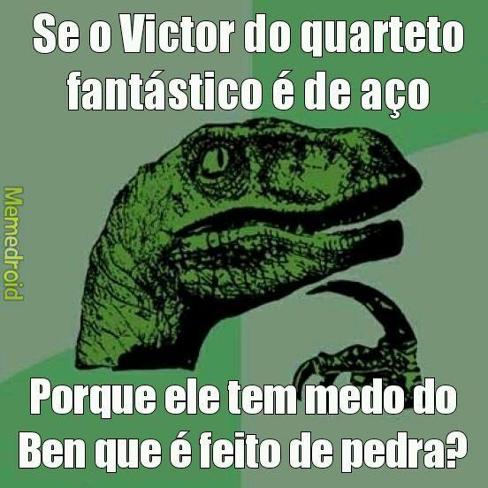 Quarteto Fantástico(antigo) - meme