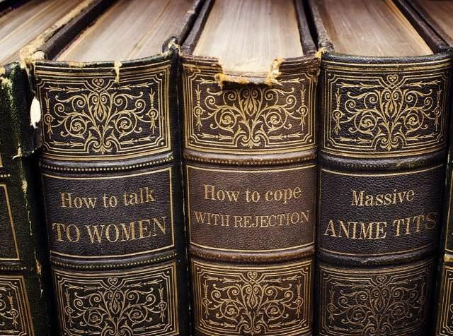 This is the library of a person of culture. The last volume is truly inspiring - meme