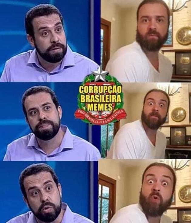 Nando Moura come bolos - meme