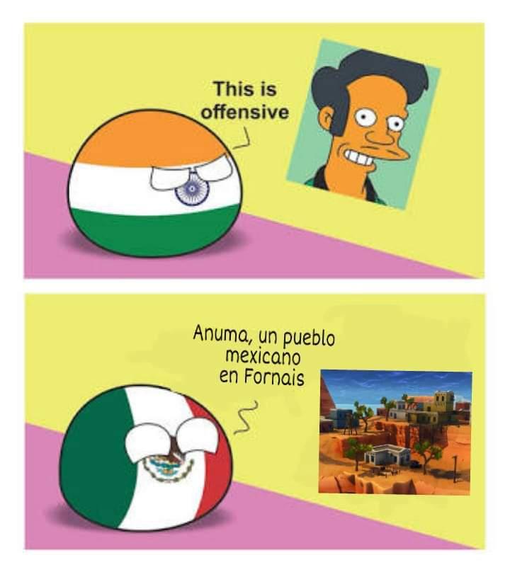 Pueblo mexicano - meme