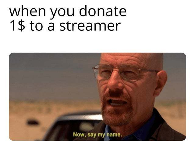 This donation was made by...pussyslayer69! - meme