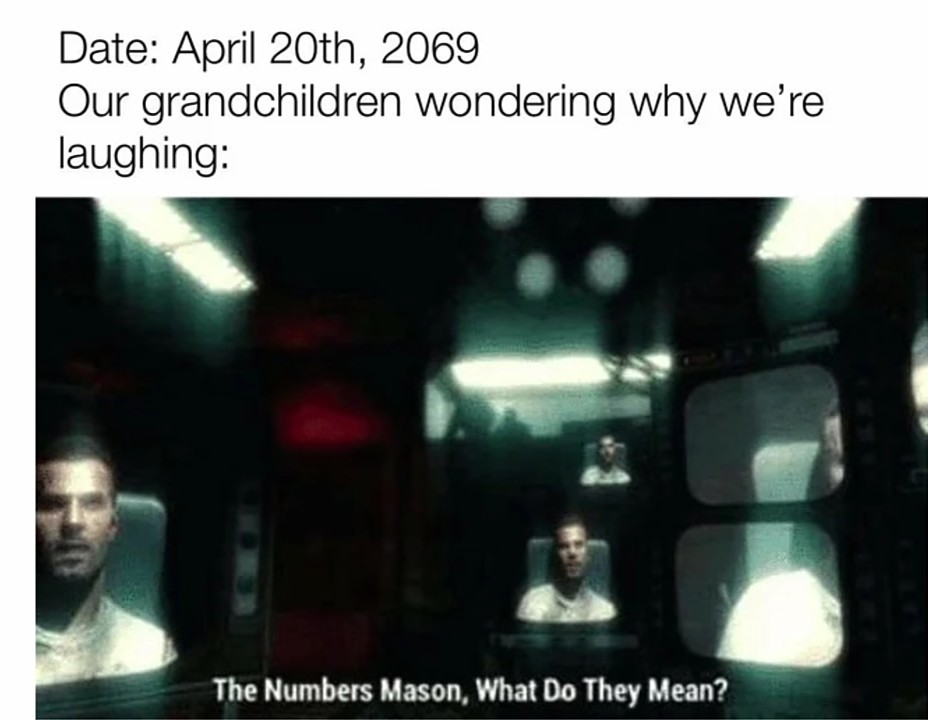 The Numbers? - meme