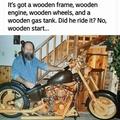 Wooden start
