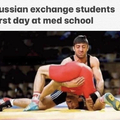 Exchange students know shit