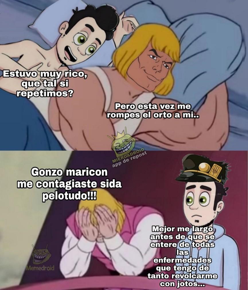 Ivan x gonzo ♡ - meme