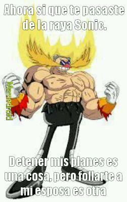 Eggman mamado - meme