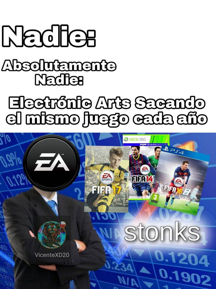EA FIFA meme