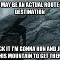 Trying to get to High Hrothgar
