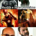 Os Heróis e seus parceiros