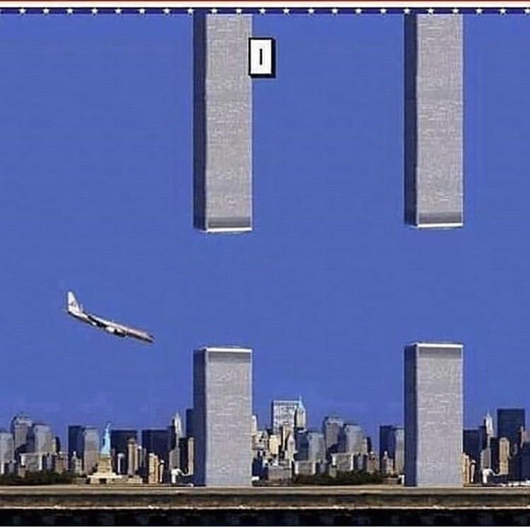 Flappy 9/11 - meme