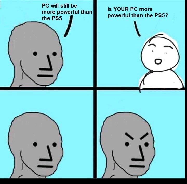 Pwn'd Poor PC Owners - meme