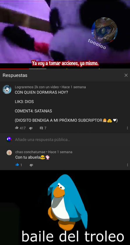 TROLIADA EPICA - meme