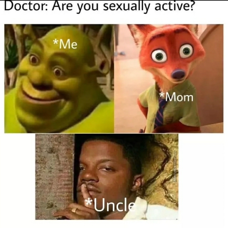 Ah yes, uncles - meme