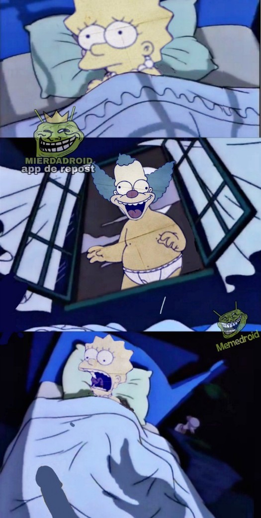 Krusty el pashaso travieso... - meme