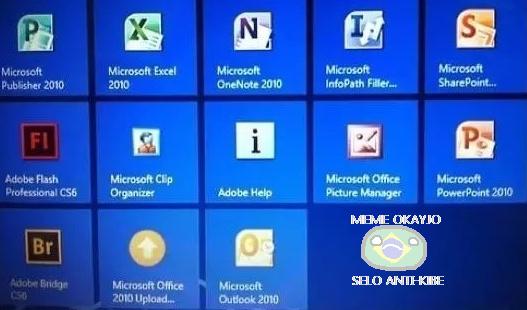 E é por isso que o ícone do Excel é um 'X'. Passa ae mod - meme
