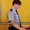 You're a rent-a-cop, Harry