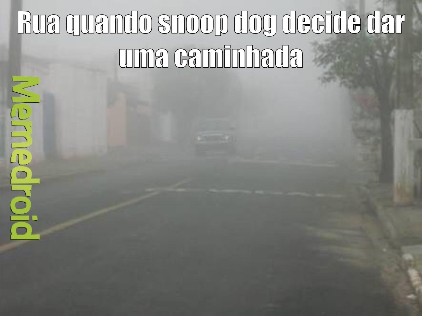 Snoop dog na rua - meme