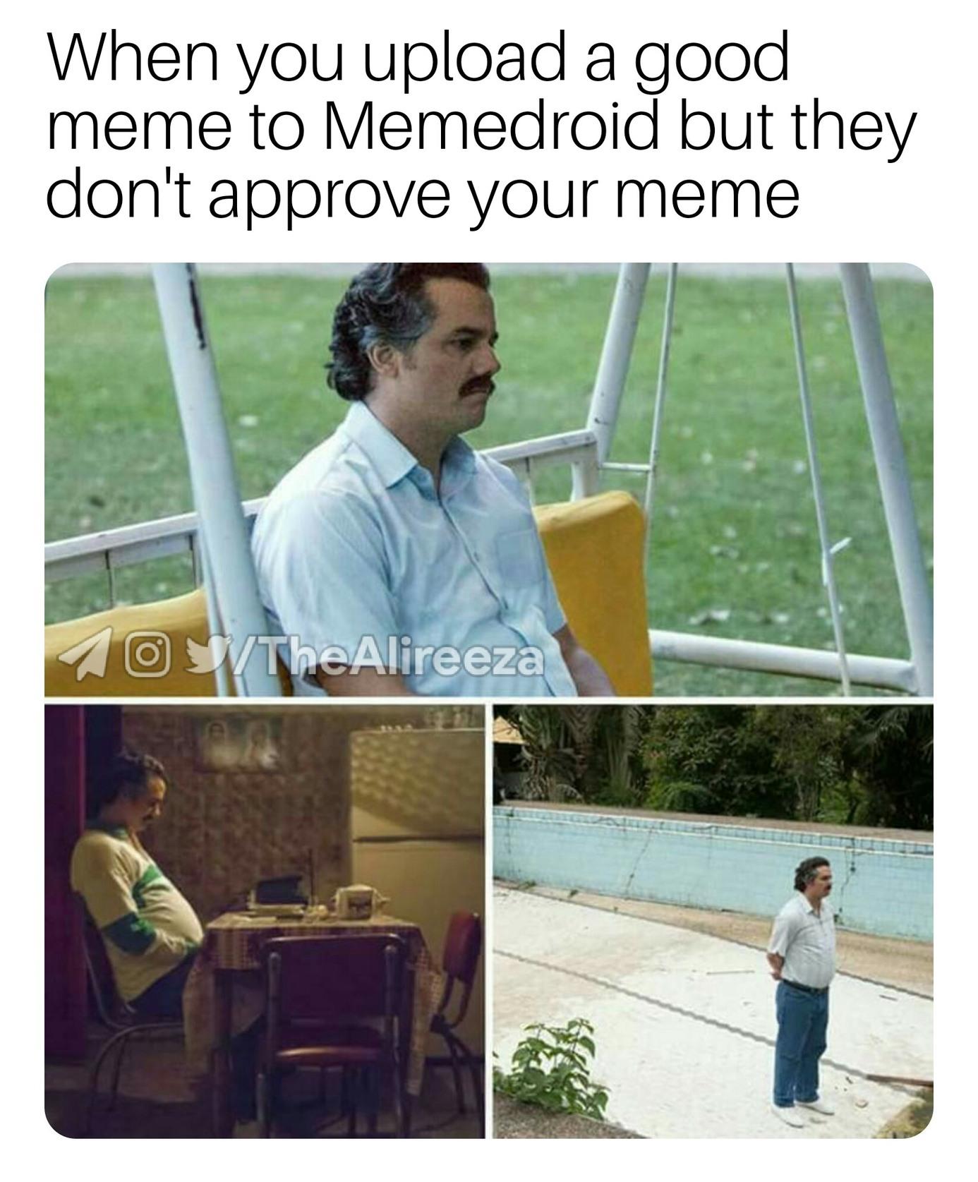 Sad Pablo - meme
