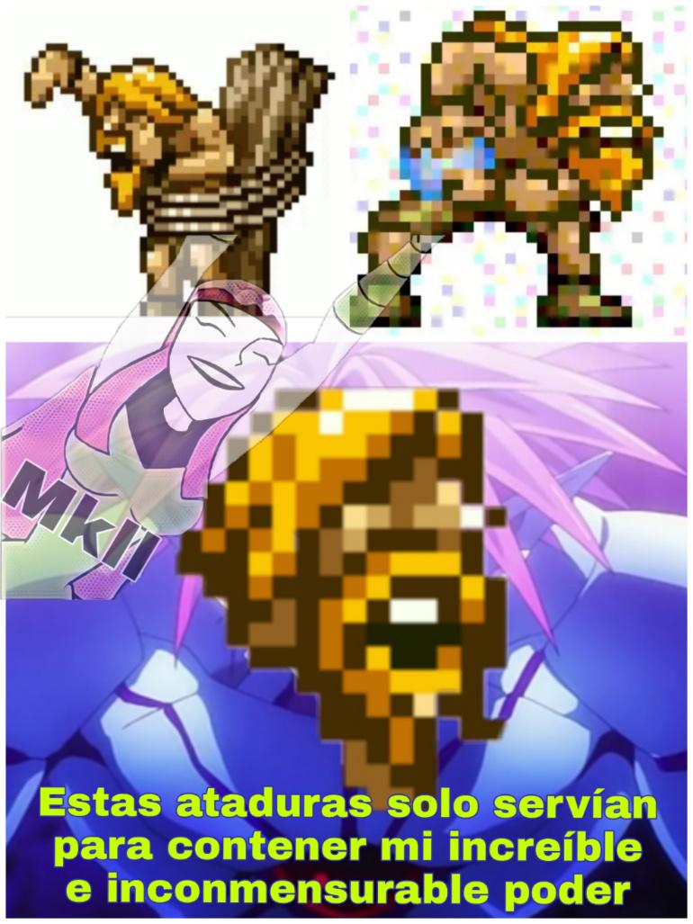 *música de batalla final* - meme