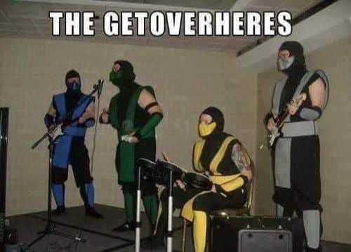 get over here - meme