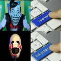 versión original, versión mejorada, versión fandom toxico, versión aterradora
