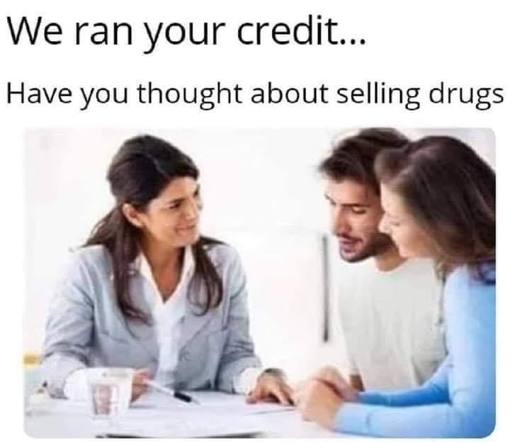 Bad Credit - meme