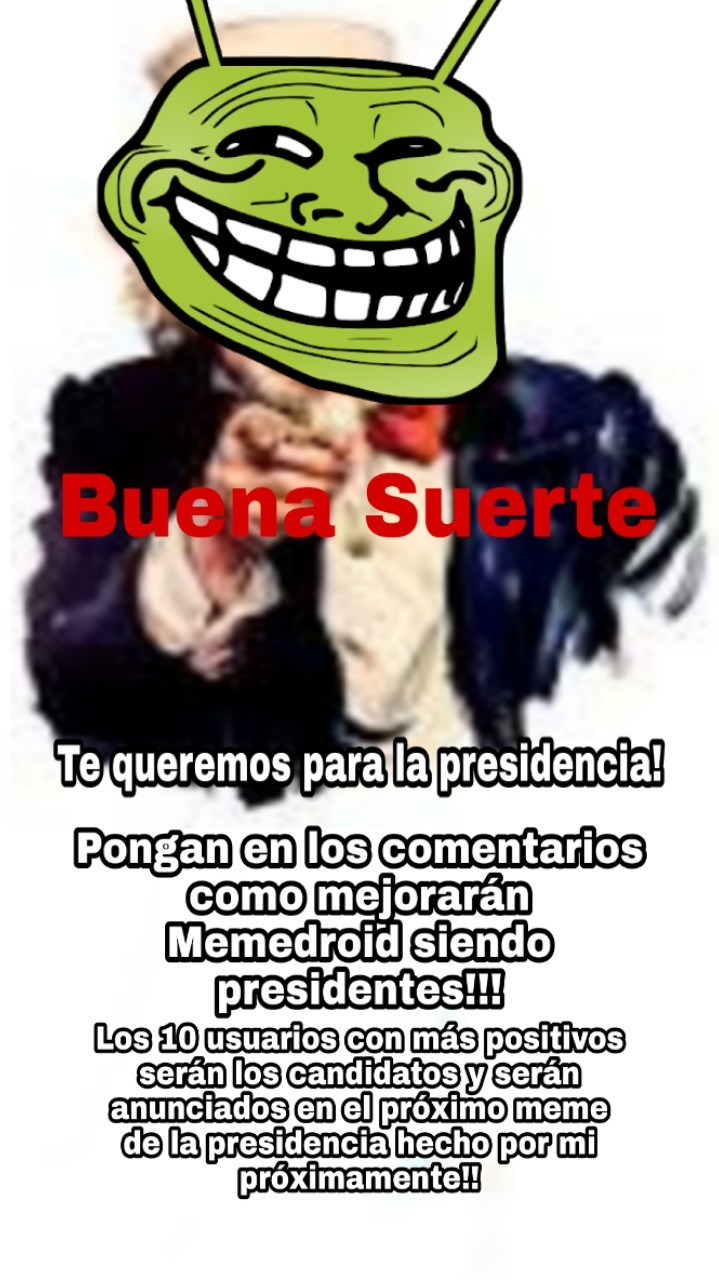 Suerte!!!! - meme