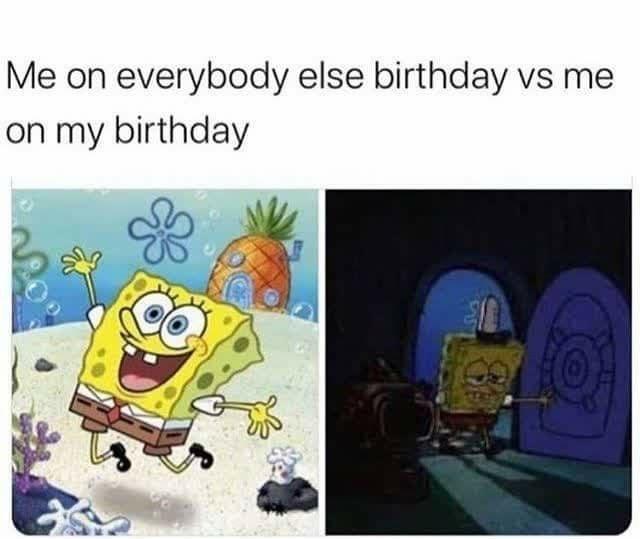 everybody else vs me - meme