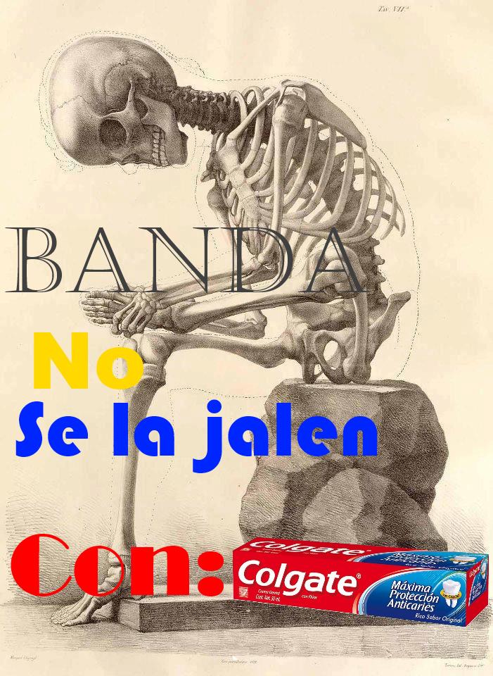 No se la jalen con Colgate By: OneDdYT - meme