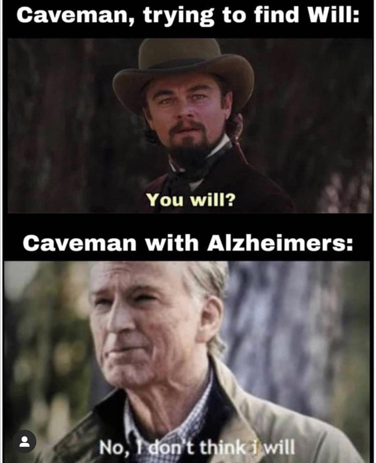 He not will - meme