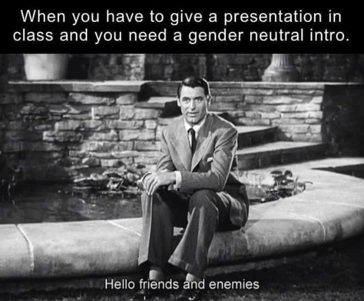 my fellow peers - meme